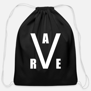 Rave Rave Raver Raven Techno - Cotton Drawstring Bag