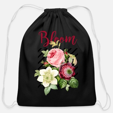 Bloom Bloom - Cotton Drawstring Bag