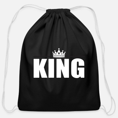 King King of the kings - Cotton Drawstring Bag