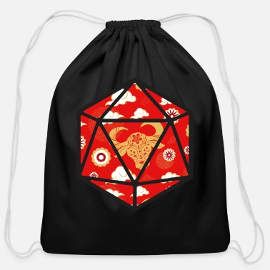 Master Year of the Ox D20 - Cotton Drawstring Bag