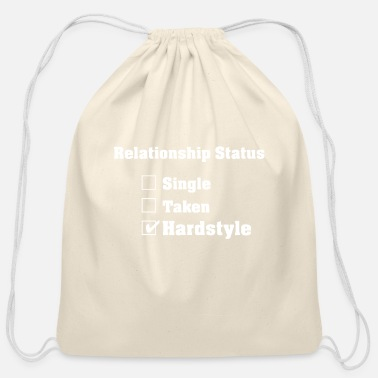 Hardstyle Relationship Hardstyle | Hardstyle Merchandise - Cotton Drawstring Bag