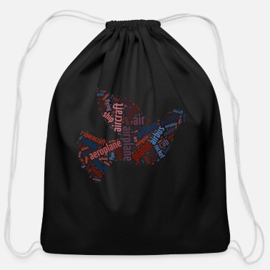 Flight Flight - Cotton Drawstring Bag