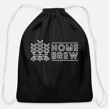 Home Brewing Home Brew - Cotton Drawstring Bag