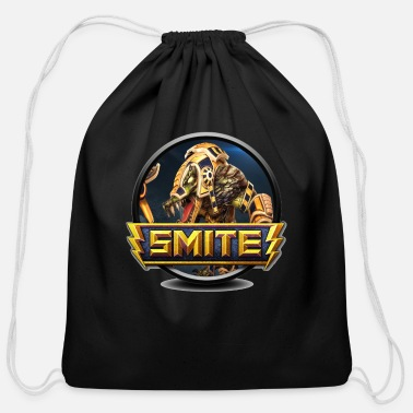 Sobek Smite Sobek Logo - Cotton Drawstring Bag