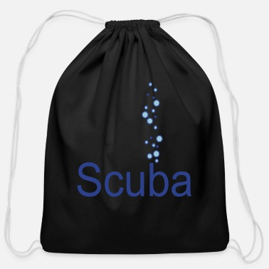 Scuba scuba - Cotton Drawstring Bag