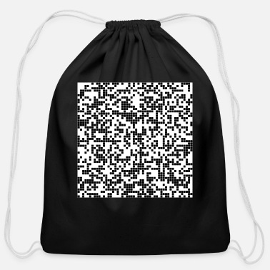 Pixel pixel - Cotton Drawstring Bag