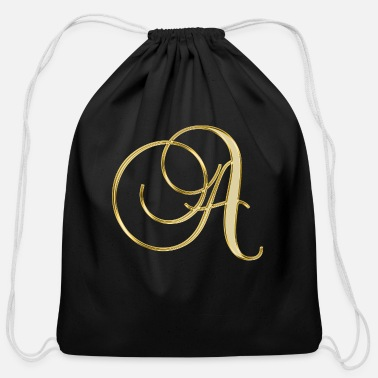 Alphabet alphabet - Cotton Drawstring Bag