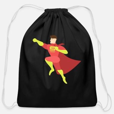 Superman Superman - Cotton Drawstring Bag ed068ab65a69
