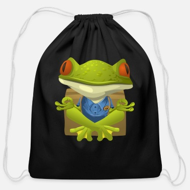 Frog frog - Cotton Drawstring Bag