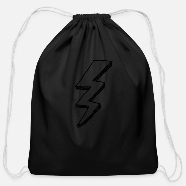 Lightning Lightning - Cotton Drawstring Bag