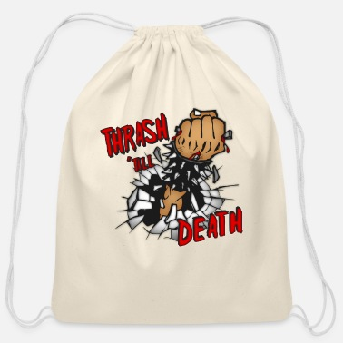 Thrash Thrash Death - Cotton Drawstring Bag