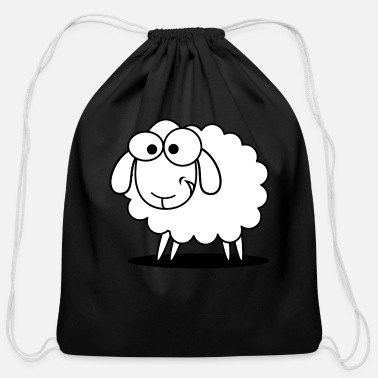 Sheep sheep - Cotton Drawstring Bag