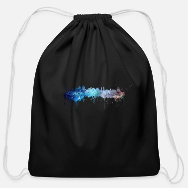 San Diego San Diego skyline - Cotton Drawstring Bag