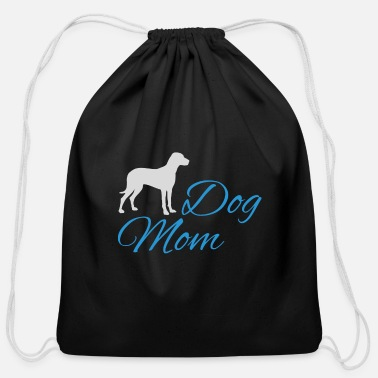 Dogowner Dog Mom dogowner pet gift - Cotton Drawstring Bag