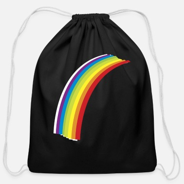 Rainbow Cool Rainbow - Cotton Drawstring Bag