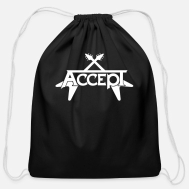 Heavy ACCEPT HEAVY METAL - Cotton Drawstring Bag