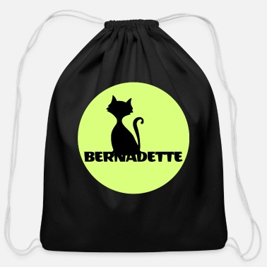 First Name Bernadette name first name - Cotton Drawstring Bag