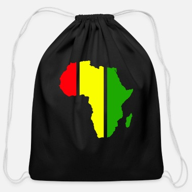 Africa Africa - Cotton Drawstring Bag