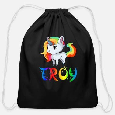 Troy Troy Unicorn - Cotton Drawstring Bag