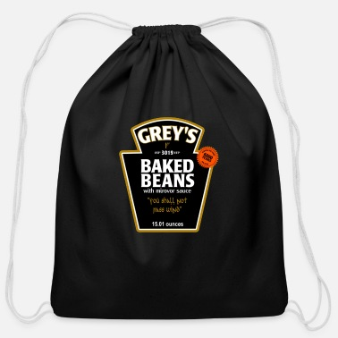 Grey greys - Cotton Drawstring Bag