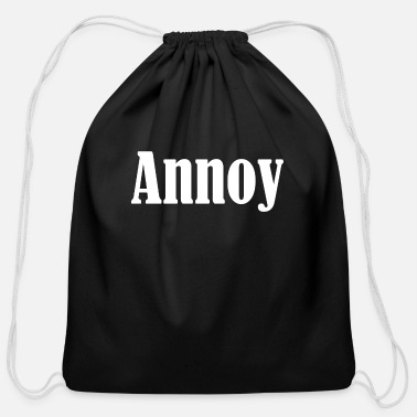 Annoying Annoy - Cotton Drawstring Bag
