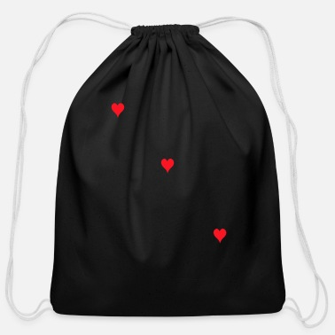 Lovely Love love and love - Cotton Drawstring Bag