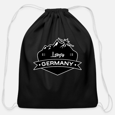 Leipzig Leipzig Germany - Cotton Drawstring Bag