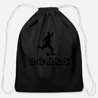 Soccer Goal Soccer Goals - Cotton Drawstring Bag