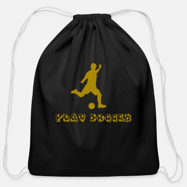 Play Soccer play soccer - Cotton Drawstring Bag