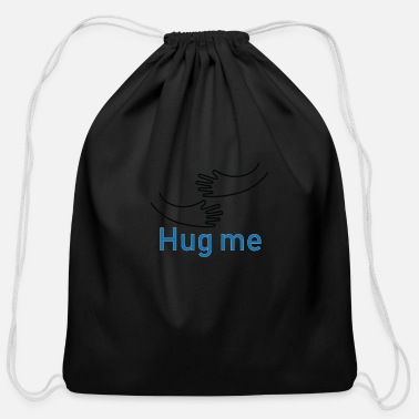 Hug Me Hug Me - Cotton Drawstring Bag