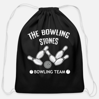 Bowling Stones Bowling Stones Team Shirt | Funny Gift Idea - Cotton Drawstring Bag