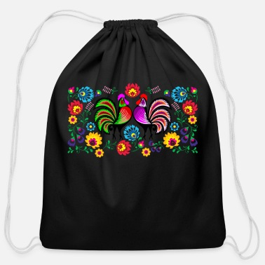 Rooster rooster - Cotton Drawstring Bag