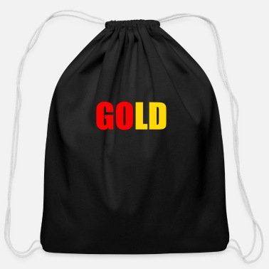 Gold GOLD - Cotton Drawstring Bag