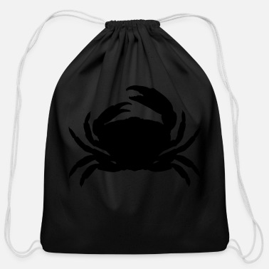 Crab crab - Cotton Drawstring Bag