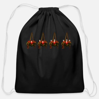 Advent advent - Cotton Drawstring Bag
