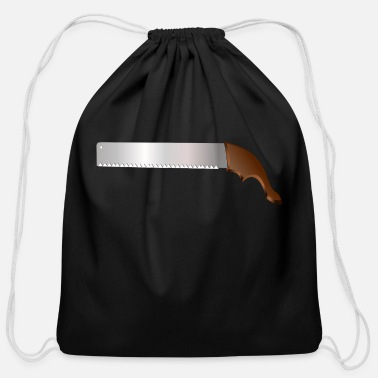 Saw saw - Cotton Drawstring Bag