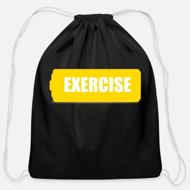Exercise exercise - Cotton Drawstring Bag
