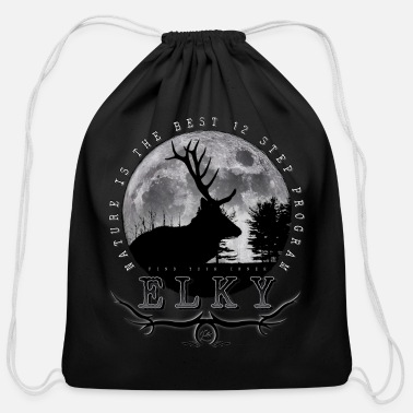 Inner Elky - Cotton Drawstring Bag