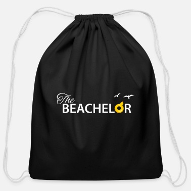 Beachelor Beach Party Shirt For Groom - Cotton Drawstring Bag