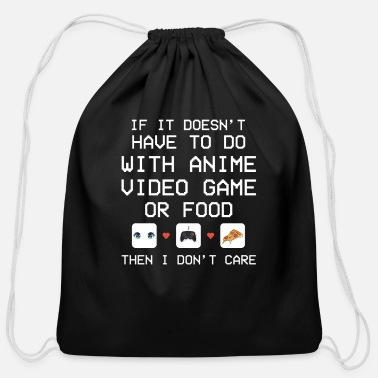 Doesnt It doesnt Have To Do With Anime Video Game or Food - Cotton Drawstring Bag