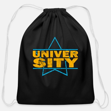 University university - Cotton Drawstring Bag