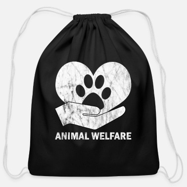 Animal Welfare animal welfare - Cotton Drawstring Bag
