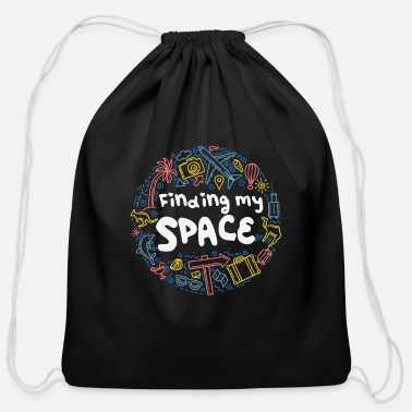 My Space Find my Space - Cotton Drawstring Bag 2dcce1896f2