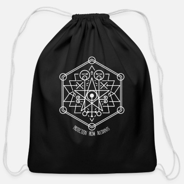 Talisman Protection against accidents - Old seal Talisman - Cotton Drawstring Bag