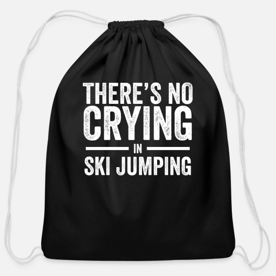 Ski Area Bags & Backpacks - Ski Jumping - Cotton Drawstring Bag black