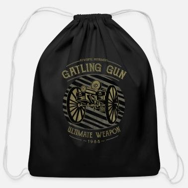 Gatling Gun Duffel Bag - black