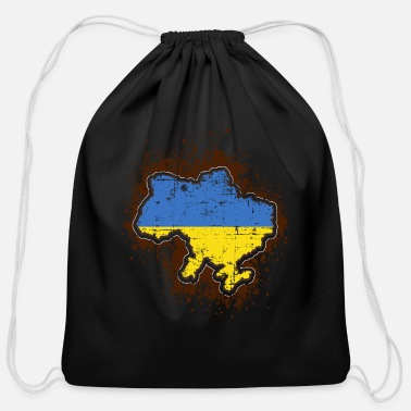 Ukraine Ukraine - Cotton Drawstring Bag
