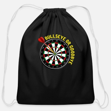 Dart Bullseye Bullseye Dart Dart Darts Dartboard Club - Cotton Drawstring Bag
