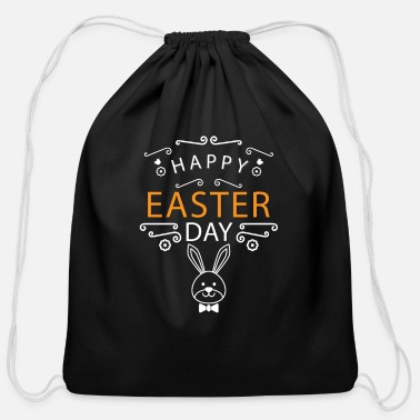 Easter Bunny Easter Bunny Happy Easter - Cotton Drawstring Bag