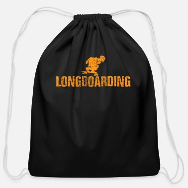 Longboard Longboard Longboard - Cotton Drawstring Bag